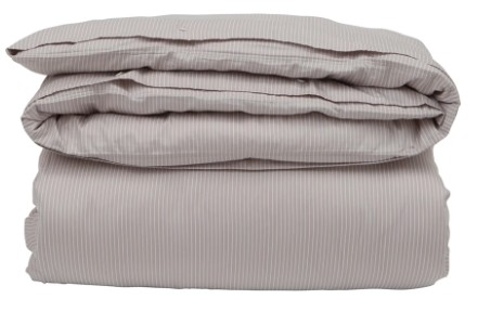 LEXINGTON - Hotel Tencel Stripe Lt Beige/White