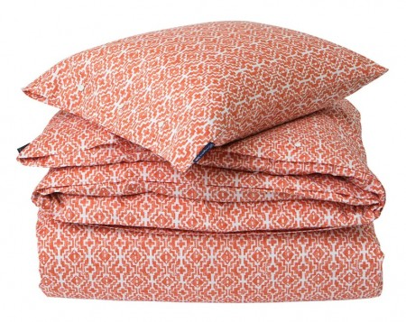 LEXINGTON - Apricot Printed Sateen