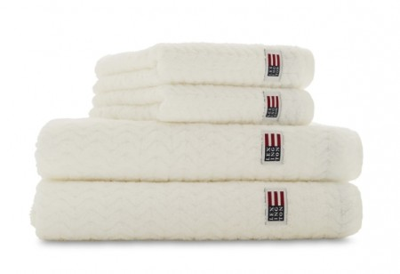 LEXINGTON - Tencel Structured Terry Towel White