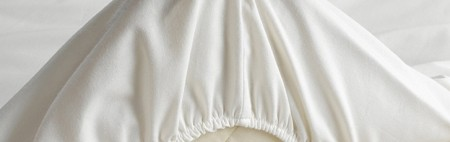 Poulsson - Percale formsydd laken til overmadrass - Beige